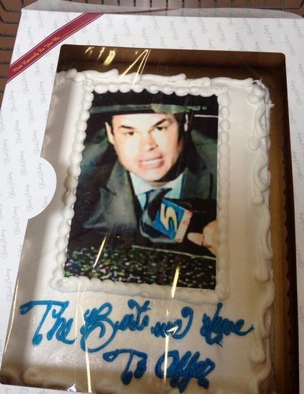 Jason Miles Birthday Cake