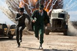 Jay Chou and Seth Rogen in The Green Hornet