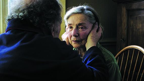 Jean-Louis Trintignant and Emmanuelle Riva