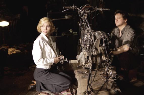 Jessica Biel and Colin Firth