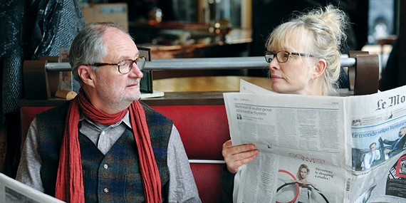 Jim Broadbent, Lindsay Duncan, and Jeff Goldblum (below) in Le Week-End