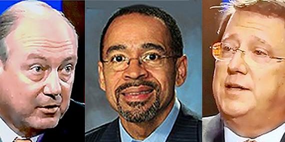Jim Kyle, Kenneth Whalum Jr., and Mark Norris