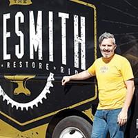 Jim Steffen's Bikesmith truck