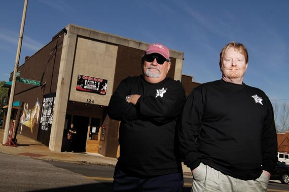 John Harris and Jeff Stamm, the double Js of Double J Smokehouse and Saloon.
