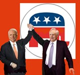 COLLAGE BY JACKSON BAKER - John McCain and Fred Smith