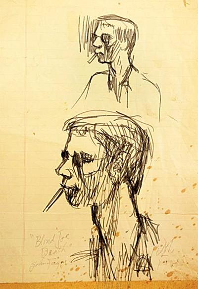John McIntire's portrait of John Fahey