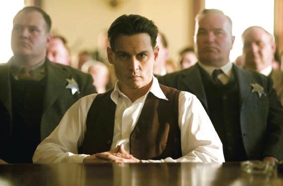 Johnny Depp as John Dillinger