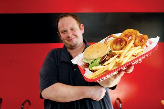 Johnny Walker, owner of Burly's Burgers