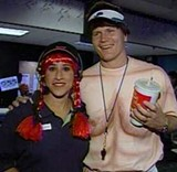 Jon Kitna dressed as Joe Cullen