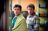Joseph Gordon-Levitt and Seth Rogen in 50/50