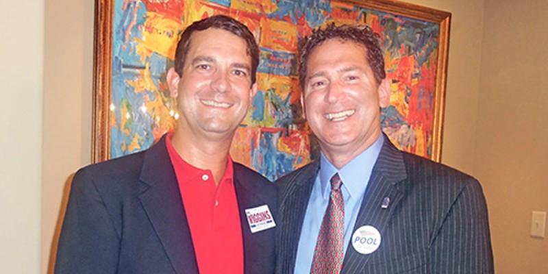 Separated at Birth 1: Judicial candidates Kyle Wiggins and David Pool JB