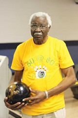 HANNAH SAYLE - Julius Turnipseed bowled 50 games on his 80th birthday.