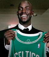 Kevin Garnett gets a fresh start with the Celtics.