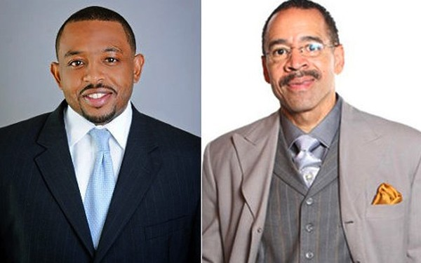 Kevin Woods and Rev. Kenneth Whalum Jr.