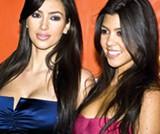DANIEL RAUSTADT | DREAMSTIME.COM - Kim and Kourtney Kardashian