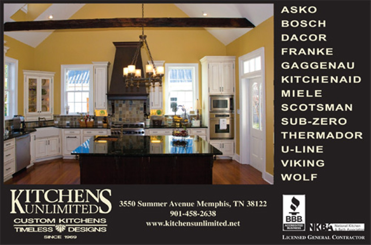 Kitchens unlimited east memphis marketplace home for Kitchen design unlimited