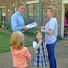 Knoxville's Haslam Goes Door-to-Door in Bartlett
