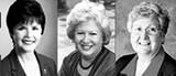 (L-R) Shirley Raines, Jocelyn Wurzburg, Sharon Goldsworthy