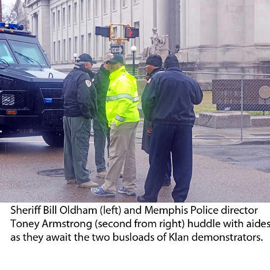 Snapshots from the Klan Rally