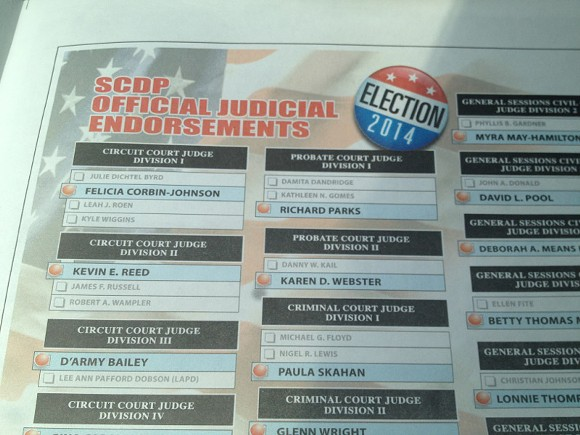 Lexie Carter's transformed version of the SCDP endorsements