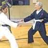 Like Daughter, Like Mother: The Holders Do Karate
