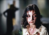 Lina Leandersson as Eli in Let the Right One In
