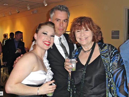 Liz Sharpe, David Foster, Irene Crist at the 2011 Ostrander Awards