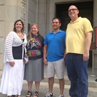 Local Gay Couples Apply for Marriage Licenses