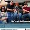 "Local Humane Society Launches ""Pit Bull People"" Campaign"