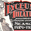 Lyceum Theatre Program from 1924