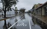 Madison bike lane - BIANCA PHILLIPS