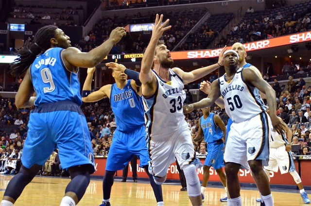 Marc Gasol and Zach Randolph went large and the team defense took over in a big comeback win.