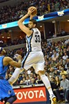 Marc Gasol's playmaking was less precise last month.