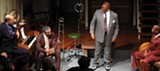 Mark Davis,Shadeed Salim, Reggie Hinson, and Ekundayo Bandele in Ma Rainey's Black Bottom