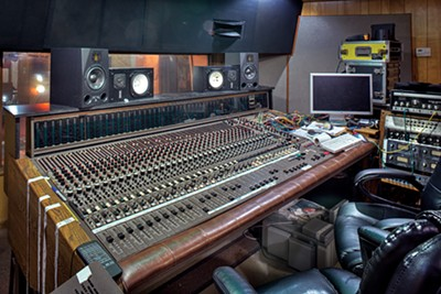 """Mark Ronson walked into the control room and said, """"Aw, man, you have the same MCI recording console that I have."""""""