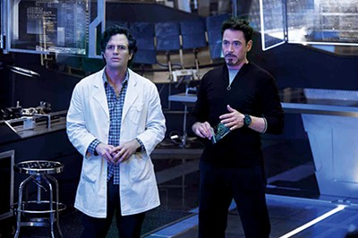 Mark Ruffalo and Robert Downey Jr.