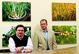 JUSTIN FOX BURKS - Market Café's Ed Bell and Jonathan Byrd advocate fresh, local food.