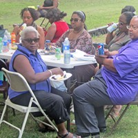 Sidney Chism Picnic 2013 Mary and Myron Lowery JB