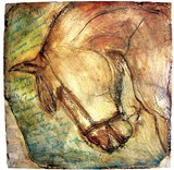 Mary Burrows' Caballo Obscura at Perry Nicole
