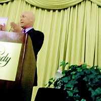 Mayor Landrieu at The Peabody