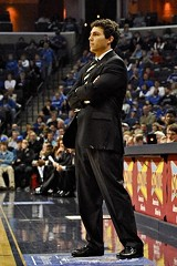 Memphis coach Josh Pastner - LARRY KUZNIEWSKI