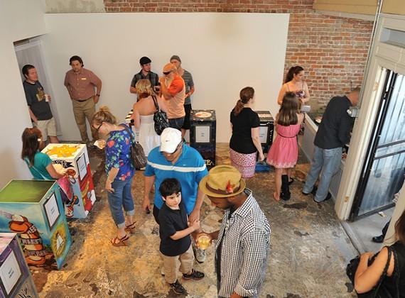 Memphis Flyer Box Party 3/28/2012