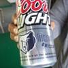 Memphis Grizzlies Coors Light Tall Boy