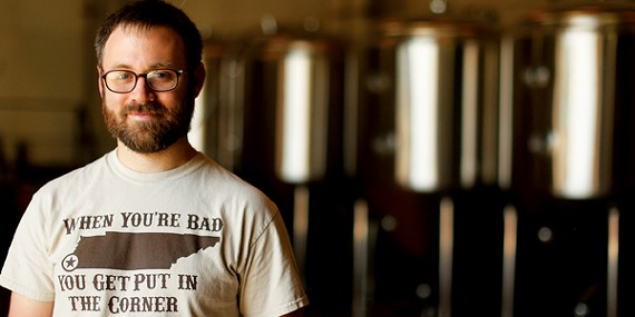 Memphis Made Brewing Company's Drew Barton