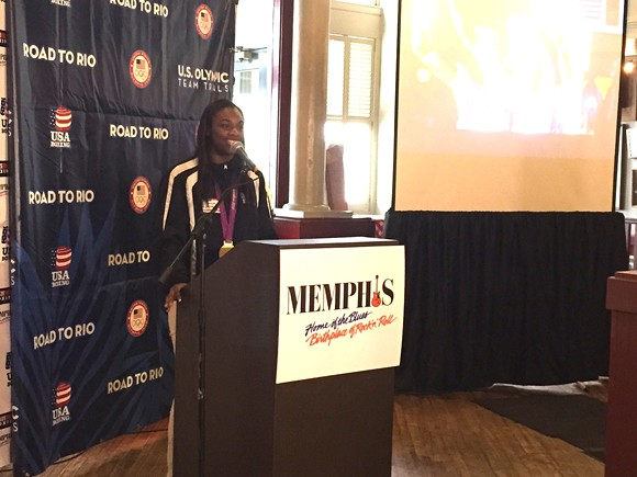 2012 Olympic gold medalist Claressa Shields will compete in the Olympic women's boxing trials in Memphis.