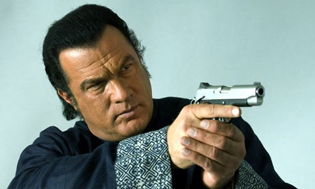 Memphis tough guy, Steven Seagal.