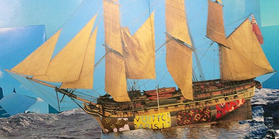 Merriweather's work untitled   (commercial vessel)