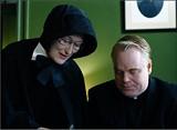Meryl Streep and Phillip Seymour Hoffman