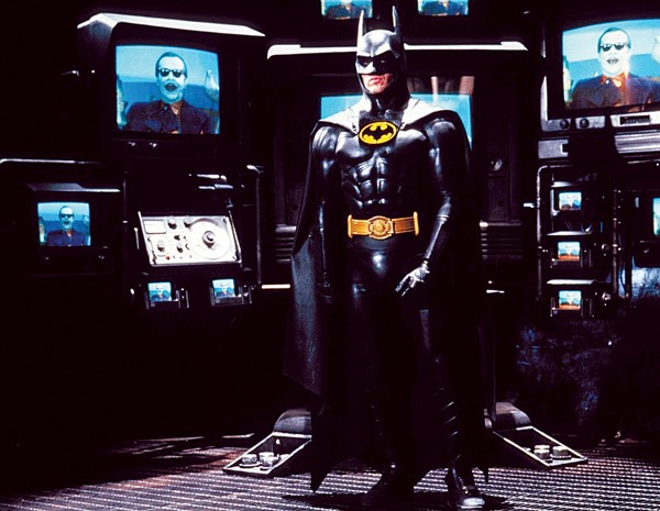 Michael Keaton as Burton's Batman