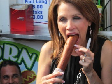 Micheles corndog moment